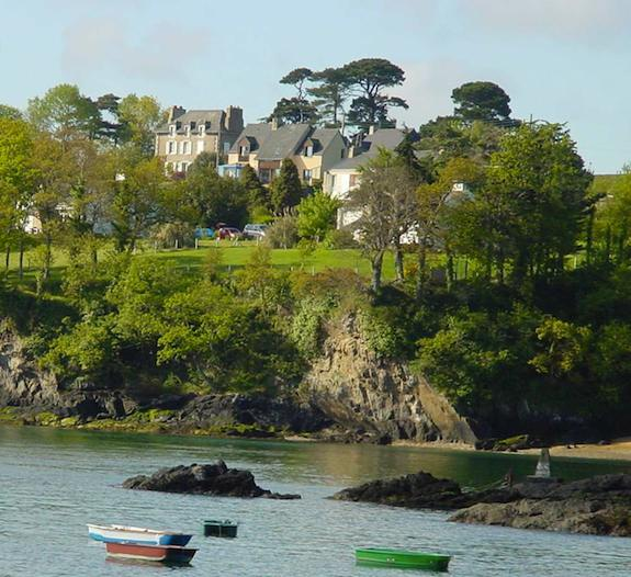 Maison Saint-Francois, Dinard. Photo: Eileen Barish