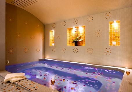 private spa at Hotel Mathurin
