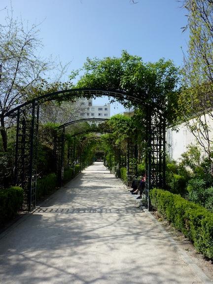 Jardin de la rue de Chatillon ©pcampsie