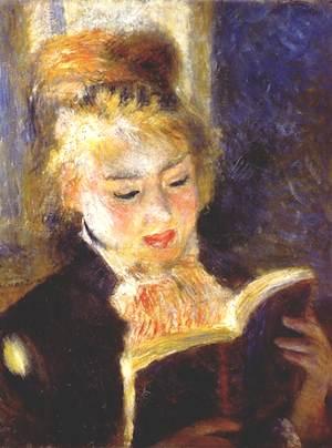 La liseuse by Pierre Auguste Renoir. Courtesy of Musée d'Orsay