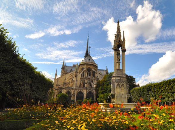 2 you cant come to paris without seeing the notre dame cathedral admission is free unless you want to visit the bell tower expect to encounter a crowd - Paris Must See