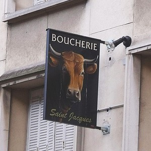 Boucherie.  Photo credit: Flickr Creative Commons/ell brown