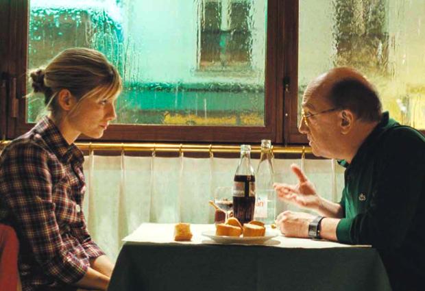 """Melanie Laurent and Michel Blanc in """"Et soudain tout le monde me manquait"""" ©UGC"""