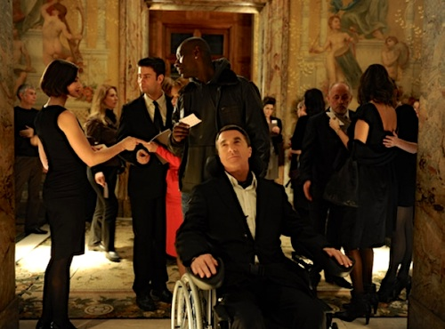 "Movie still from ""Intouchables."" Publicity image courtesy of Gaumont France."