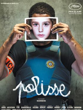 """Movie poster for """"Polisse"""""""