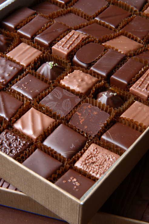 Classic chocolates from Jean-Paul Hévin ©Alison Harris
