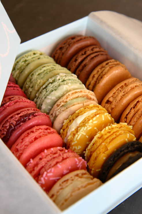Macarons from Ladurée ©AlisonHarris