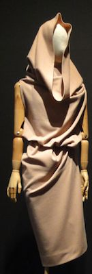 hooded dress at Madame Gres exhibition