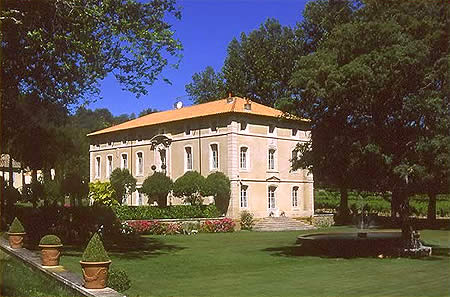 Chateau Talaud in the Vaucluse France