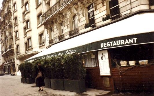 La Closerie des Lilas circa 1988.