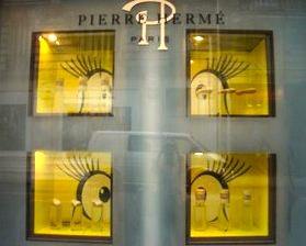 Pierre Hermé window, Paris. Photo: Cathy Fiorello.