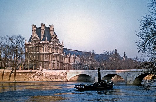 Pont Royal circa 1954.