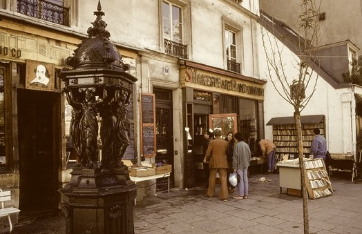 Shakespeare And Company circa 1988.
