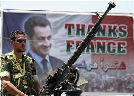 Libyan rebel   Photo: Reuters