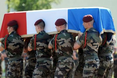 FP photo of French soldiers in Afghanistan