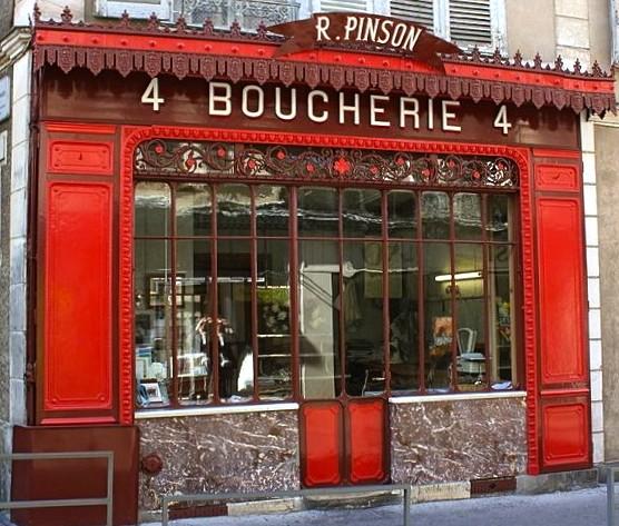 Boucherie Pinson, a national monument