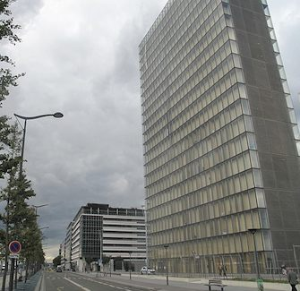 Avenue de France, Bibliothèque Nationale de France.