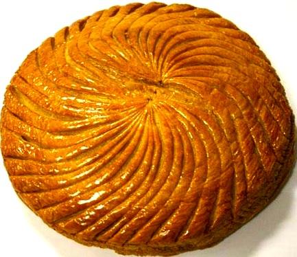 Jacques Genin galette de roi. Publicity photo.