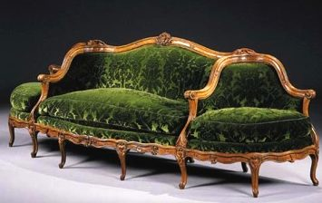 French Canapes And Other French Antique Sofas And Chairs