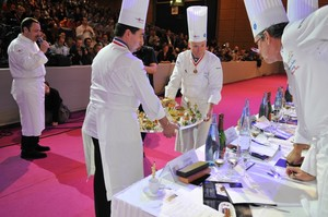 Bocuse d'Or Presenting for Judging. Photocredit: Maralyn Hill.