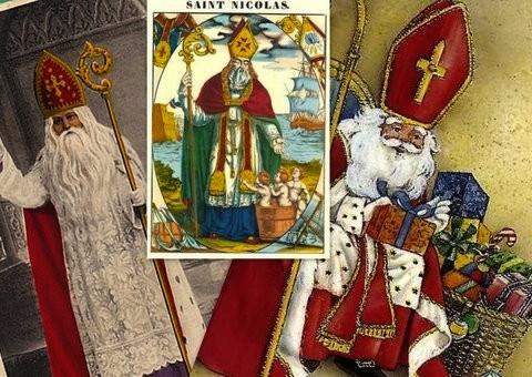 Saint Nicolas de Myre antique postcard
