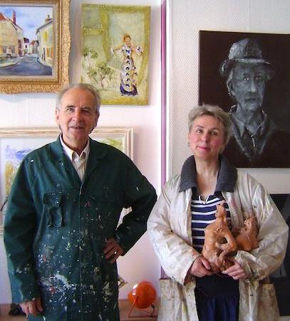 Ateliers du 11, Denis Herbillon & Anne Fierobe  Photo: J. Hulstrand