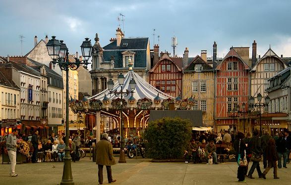 Troyes carousel.