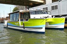 Vogueo water bus photo courtesy STIF