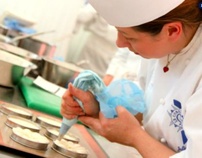 Le Cordon Bleu student   photo courtesy of le Cordon Bleu