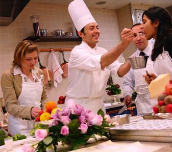 Ritz Escoffier cooking class photo courtesy Ritz Paris