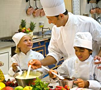 """Ritz Kids"" class  photo courtesy Ritz Paris"