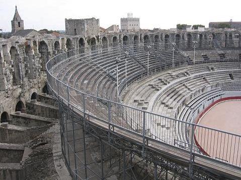 Arles arena © Mandy Pearce
