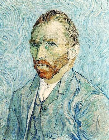 Vincent Van Gogh, self portrait circa 1889.