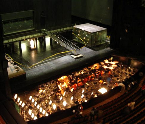Bastille Opera stage view from balcony ©tedizen