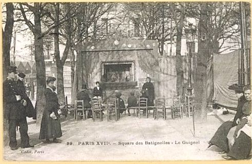 Batignolles carte postal-1905 ©Mary Evans Picture-library