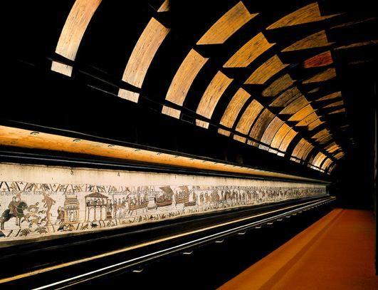 Bayeux Tapestry exhibit ©Bessin-Normandie.com