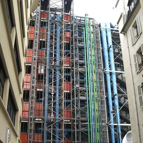 Centre Pompidou © Licorena