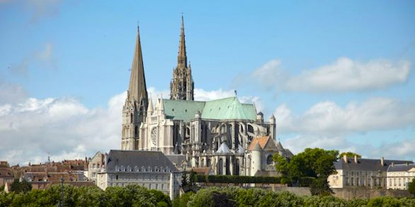 Chartres and its cathedral. Photo: Chartres Tourism Office