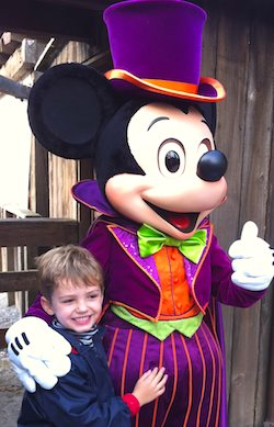 Lucas & Mickey Mouse. Photo: Lexy Delorme