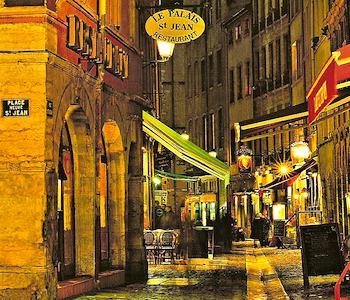 Vieux Lyon (Old Town). Photo: katya.