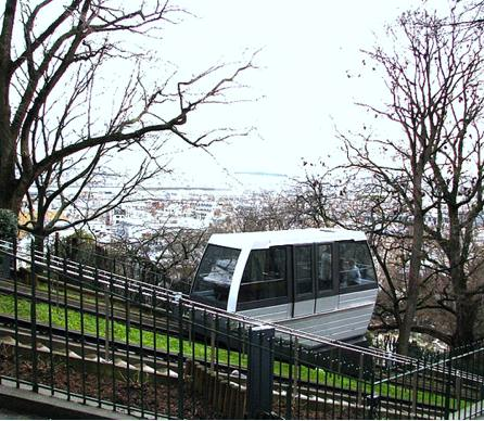 Funicular of Montmartre. Photo: .v1ctor.