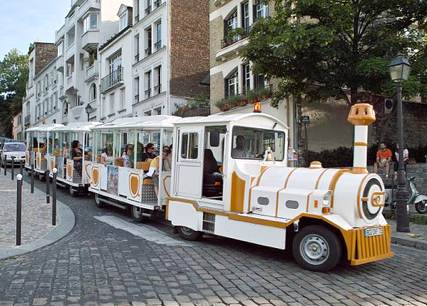 Montmartre Little Train. Photo: ©Paris_Kyoto