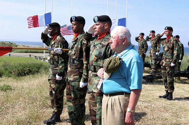 Normandy Veteran Salute © US Army Europe Images