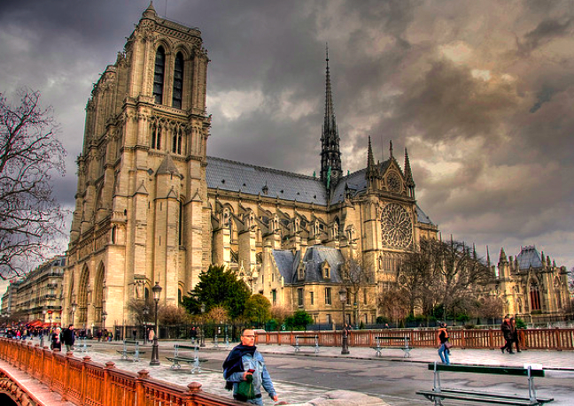 Notre Dame from Pont au Double ©Serge Melki
