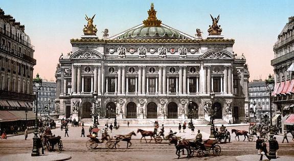 Photo Credit: Paris Opera House ca. 1890-1900, courtesy of Wikimedia Common