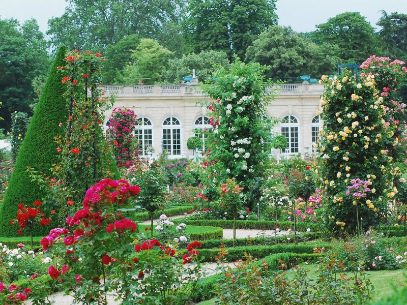 Five paris parks tuileries luxembourg boulogne monceau citroen vincennes - Jardin de bagatelle restaurant ...