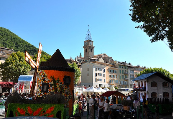 Corso de la Lavande festival.