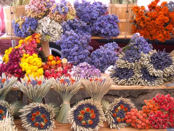 Provence market lavender.