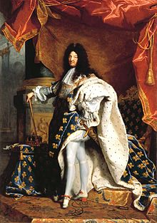 Louis XiV, the Sun King.