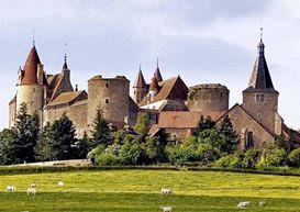 Chateauneuf-en-Auxois       publicity photo